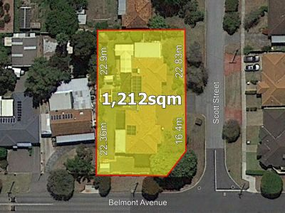 PRIME CORNER DEVELOPMENT SITE WITH TWO INCOME PRODUCING DWELLINGS!