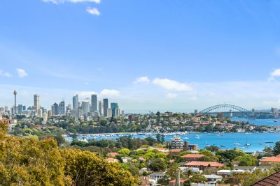 Modern Designer Living With Large Private Garden & Spectacular City/Bridge/Harbour Views