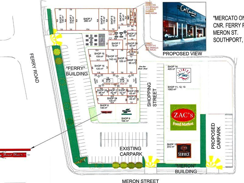 THE LOCATION AND EXPOSURE, MERCATO ON FERRY NOW LEASING!!