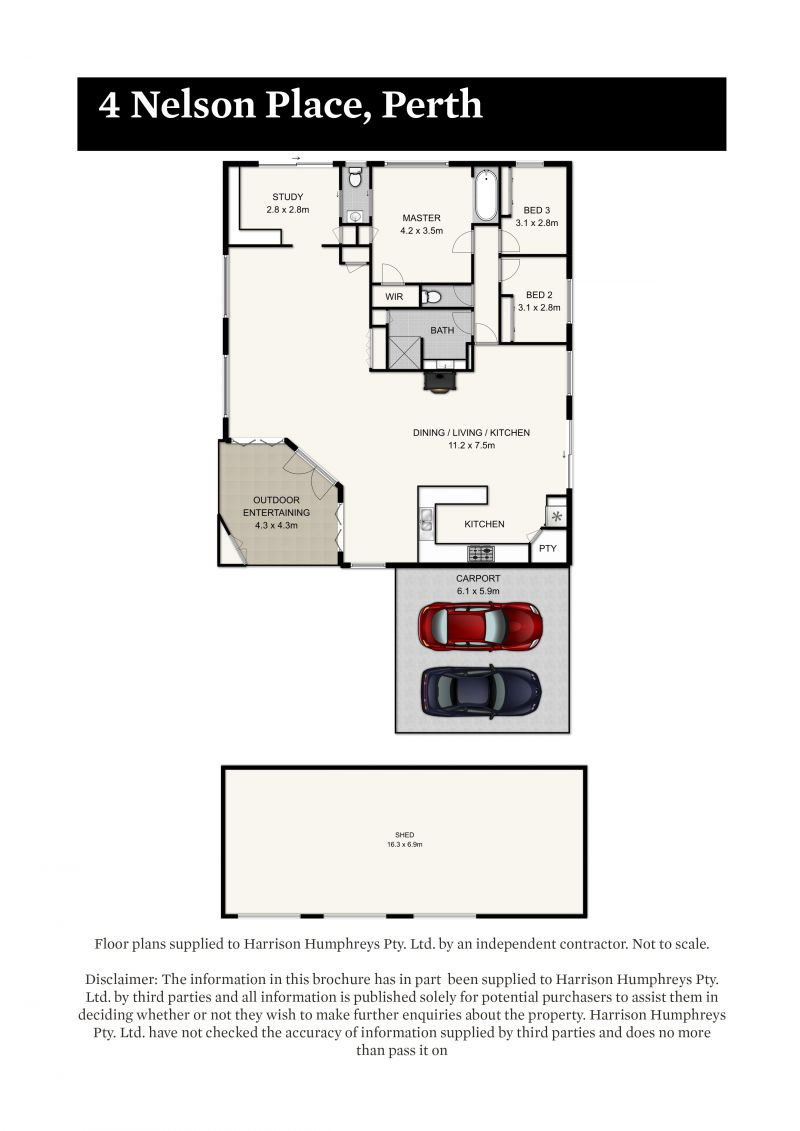 4 Nelson Place Floorplan