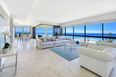 Luxury Entire Floor Beachfront Residence