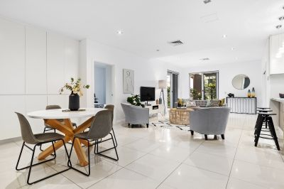 Luxurious ground-floor apartment in a blue ribbon location