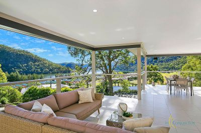 spectacular water views. a private hideaway on easy-care acres.