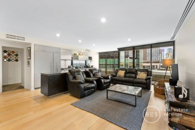 Spacious two bedroom living at highly sought Yarra's Edge