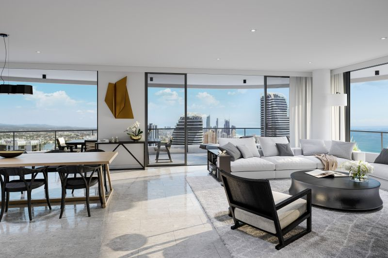 The Pinnacle of Sub-Penthouse Living in the Heart of Broadbeach