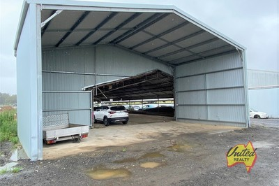 LARGE STORAGE SHED WITH MULTIPLE USES