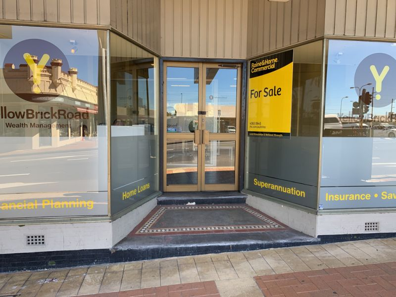 Freehold, retail property opposite Wyong Train Station