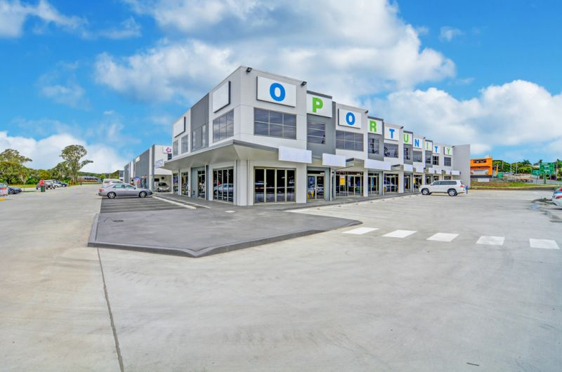 BRAND NEW 292m2* OFFICE OR RETAIL UNIT IN TINGALPA CENTRAL