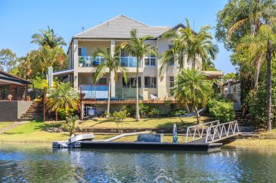 PALATIAL WATERFRONT FAMILY HOME