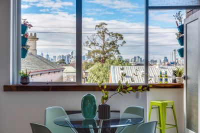 Seductive views & sensational lifestyle offered in this Scandi 1 Bedroom apartment.