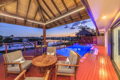 IMMACULATE SINGLE LEVEL WATERFRONT HOME - WIDE WATER VIEWS