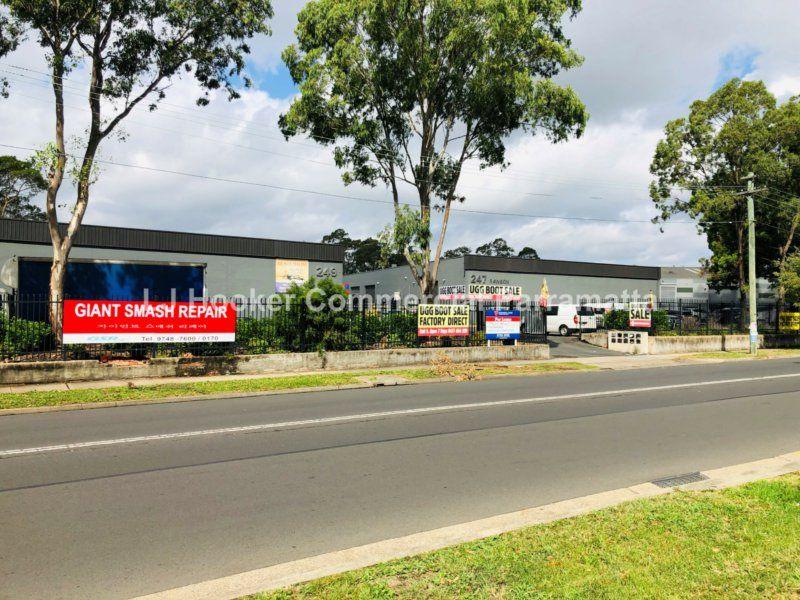 AUBURN NSW | INDUSTRIAL UNIT | 277 SQM