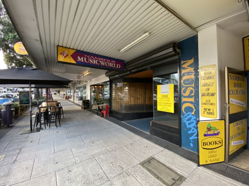 HIGH EXPOSURE RETAIL FOR SHOP FOR LEASE | NAMBOUR