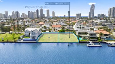 Exclusive Main River Land Spanning 1723 sqm  Create your Gold Coast Super Mansion