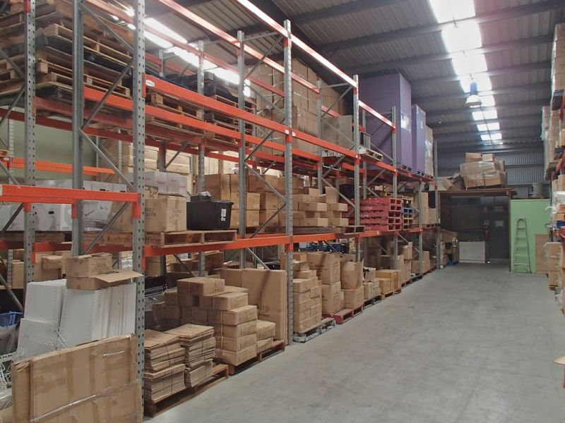Well Located Warehousing Option - Racking can be Included