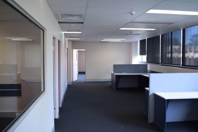 Fully Partitioned Office Space with Parking