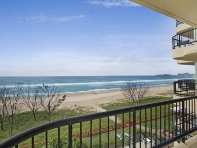 An absolute beachfront - North East facing apartment
