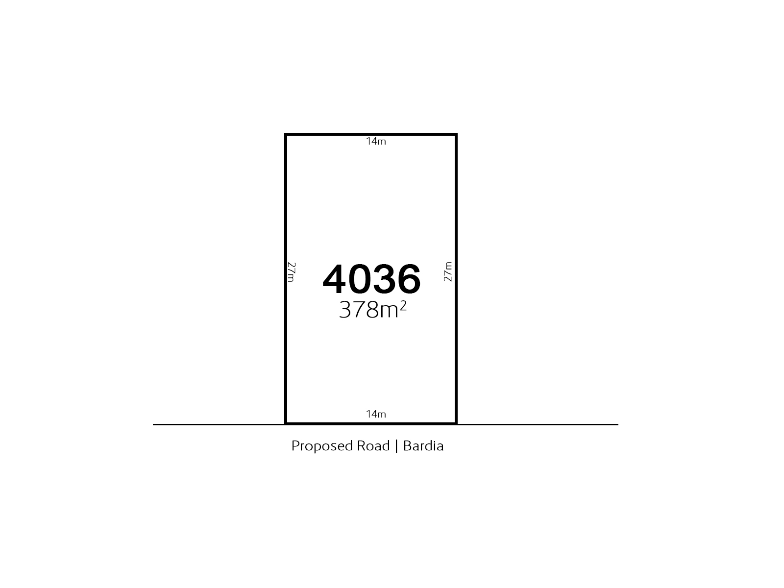 Bardia LOT 4036 Proposed Road | Bardia