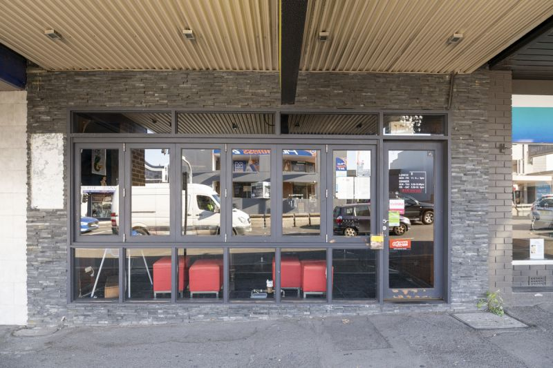 Freehold shop with development upside