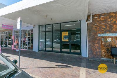 Large modern retail space