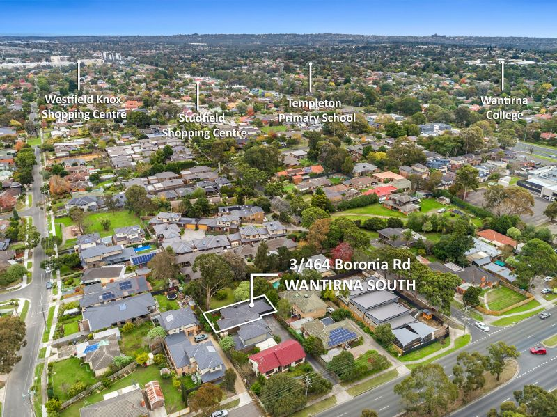 For Sale By Owner: 3/464 Boronia Road, Wantirna South, VIC 3152