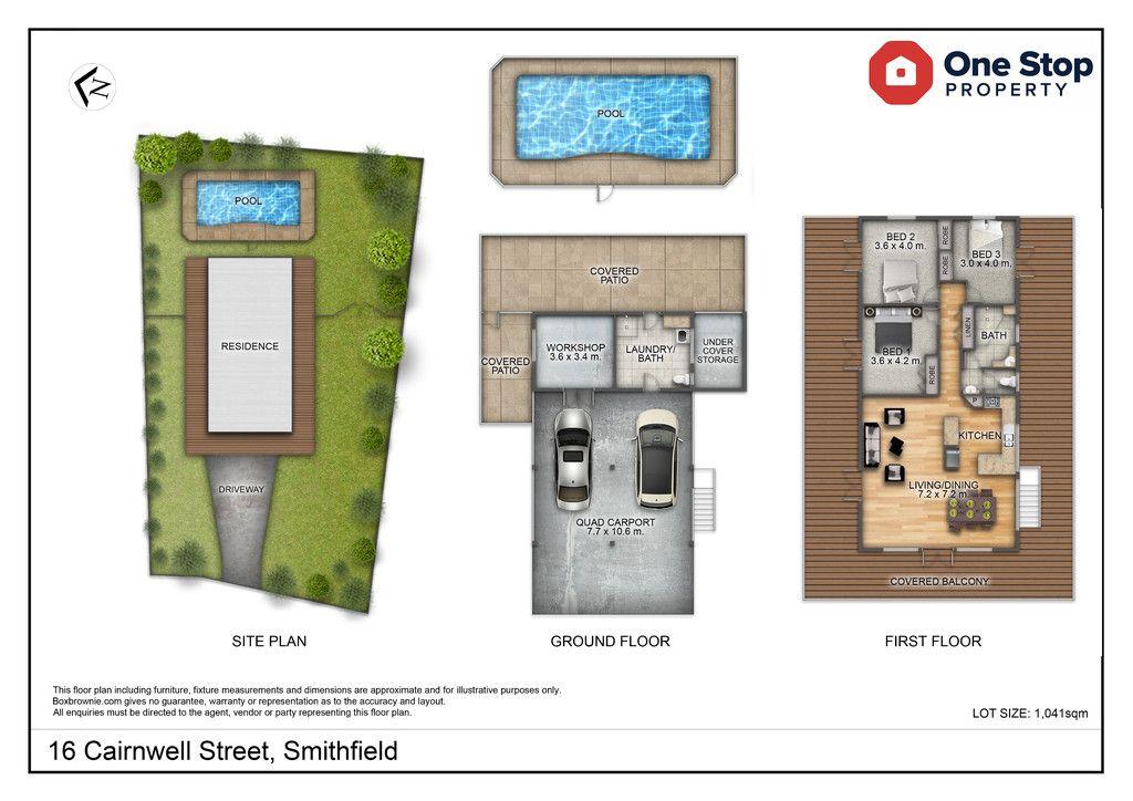 16 Cairnwell Street, Smithfield QLD 4878