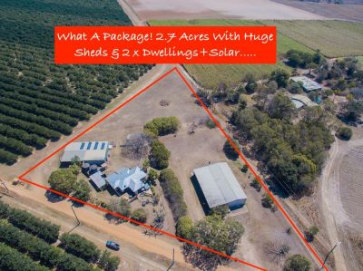 Unreal 2.7 Acre Dual Living Property with Loads of Living & Shed Space + 6.2kw SOLAR