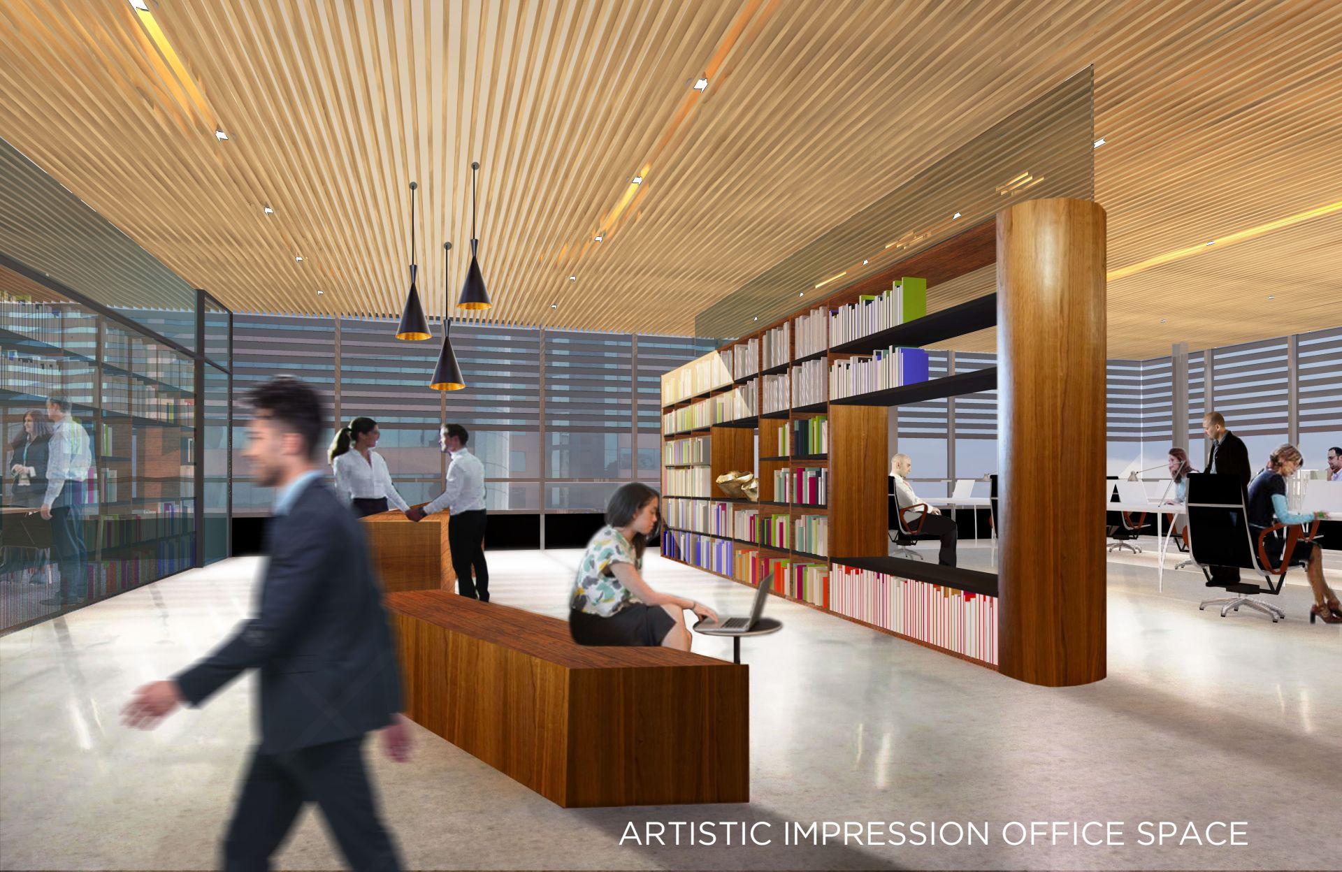Stunning Brand Office Space