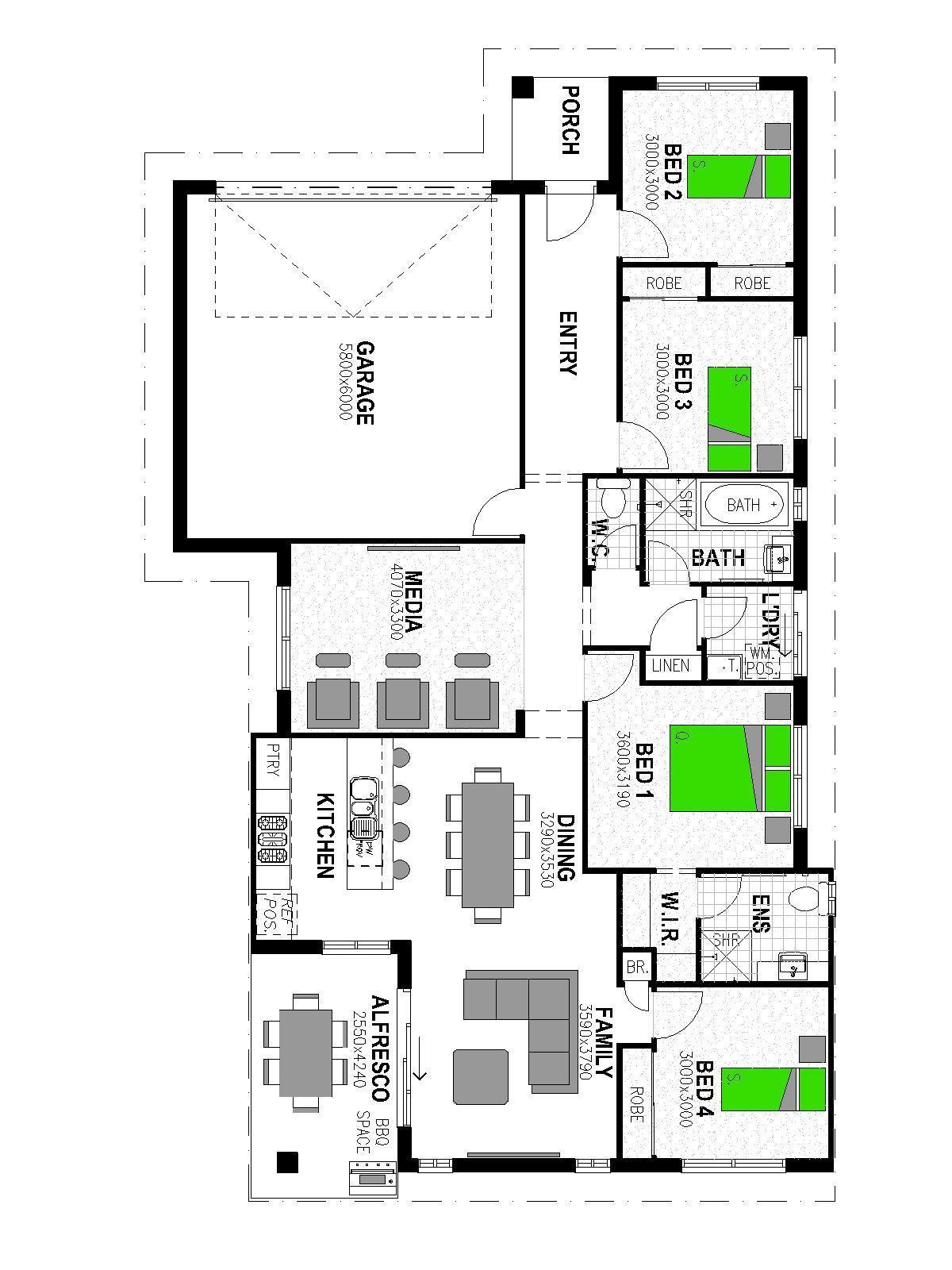 LOT 719 CREEKS EDGE ESTATE MORAYFIELD Floorplan