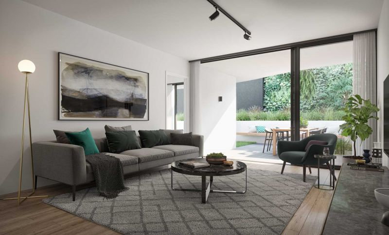MODERN TWO BEDROOM APARTMENT DESIGNED FOR STYLISH HOMEOWNER>