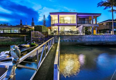 DIRECT ACCESS WATERFRONT DUPLEX WITH A POOL!