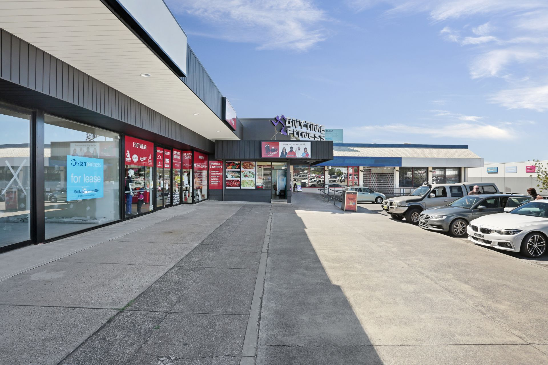 Newly Developed Shopping Centre