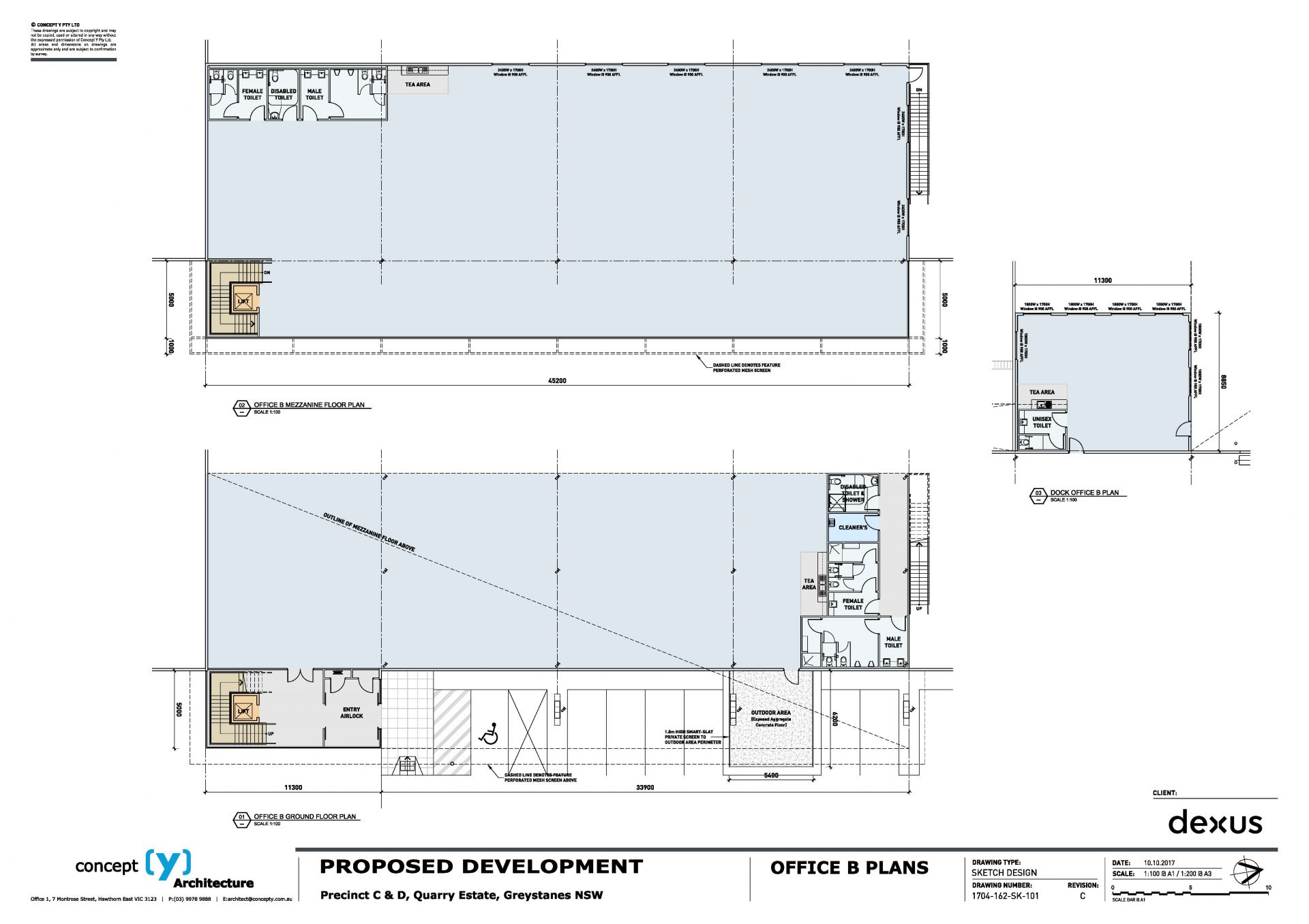 Under Construction - Flexible Corporate Office & W