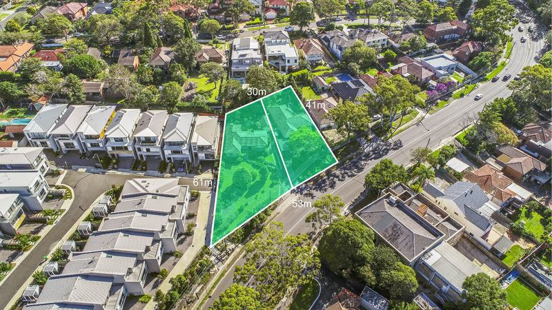 Rarely available Lower North Shore development site