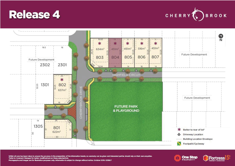 Lot 804 Highfield Circuit, Bentley Park QLD 4869