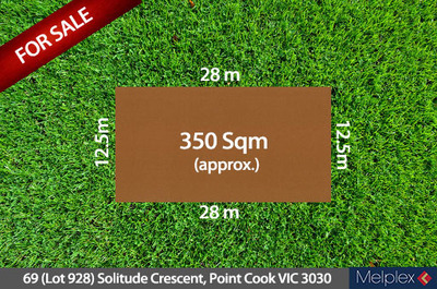 69 (Lot 928) Solitude Crescent, Point Cook
