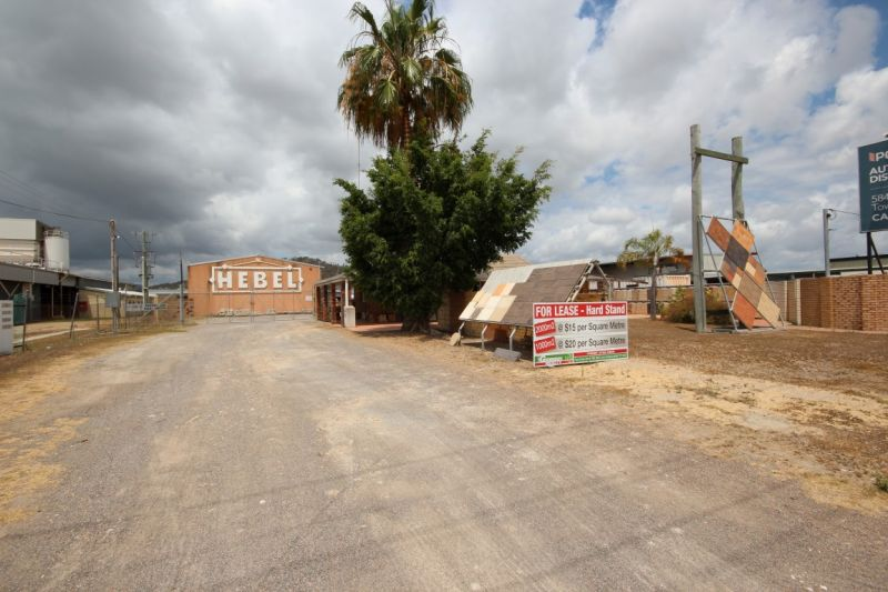 Main Road Industrial Property with Excess Hardstand