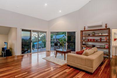 Executive Home With Captivating Hinterland Views + Air BnB Option