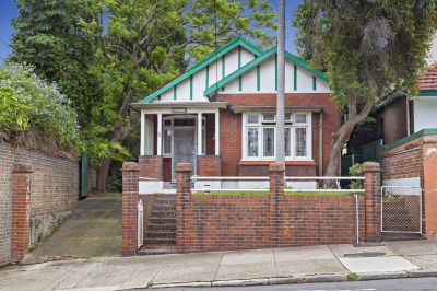 Classic Home with Exciting Future Potential in Convenient Location