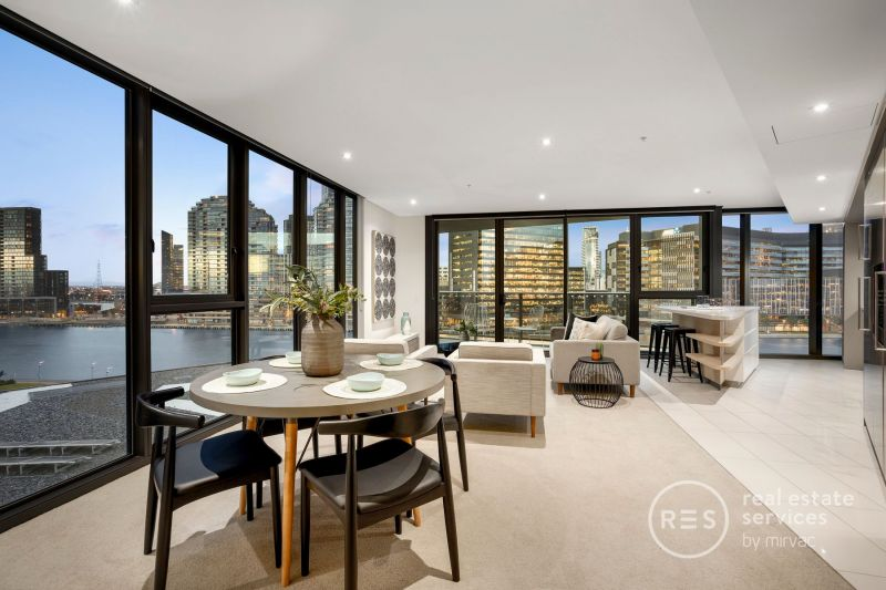 Unmatched Docklands luxury and inspirational vistas