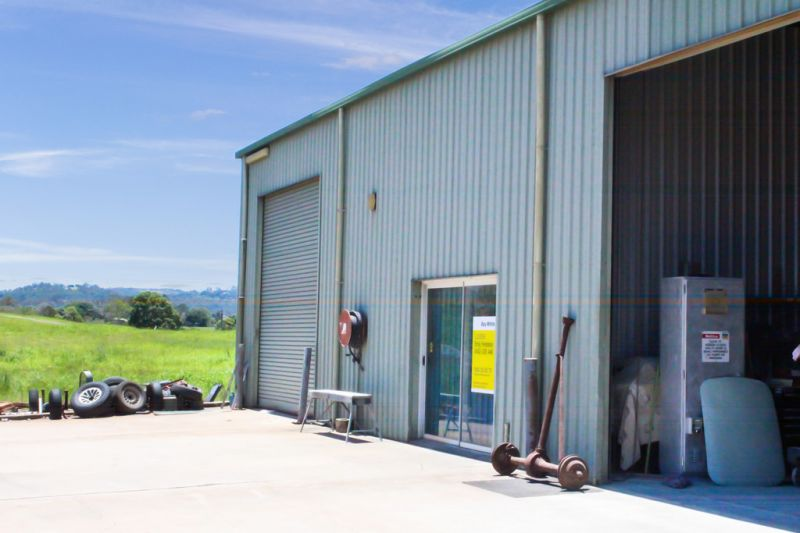 Secure Compact Industrial Shed | Fully Self-Contained | Yandina Industrial Estate
