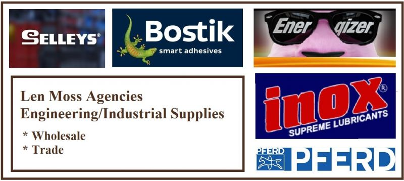 ENGINEERING AND INDUSTRIAL SUPPLIES (WHOLESALE AND TRADE).