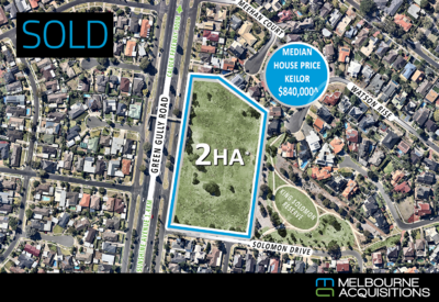 Vacant Corner Site with Enormous Potential