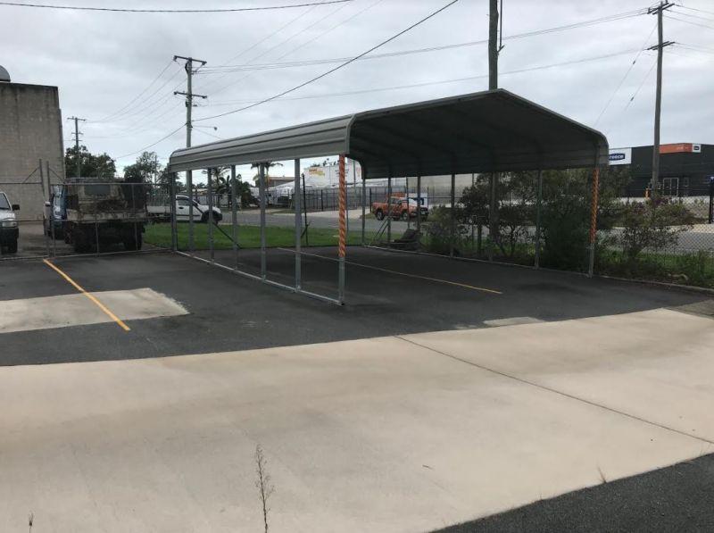 Fully Fenced Bitumen Hardstand for Sale or Lease