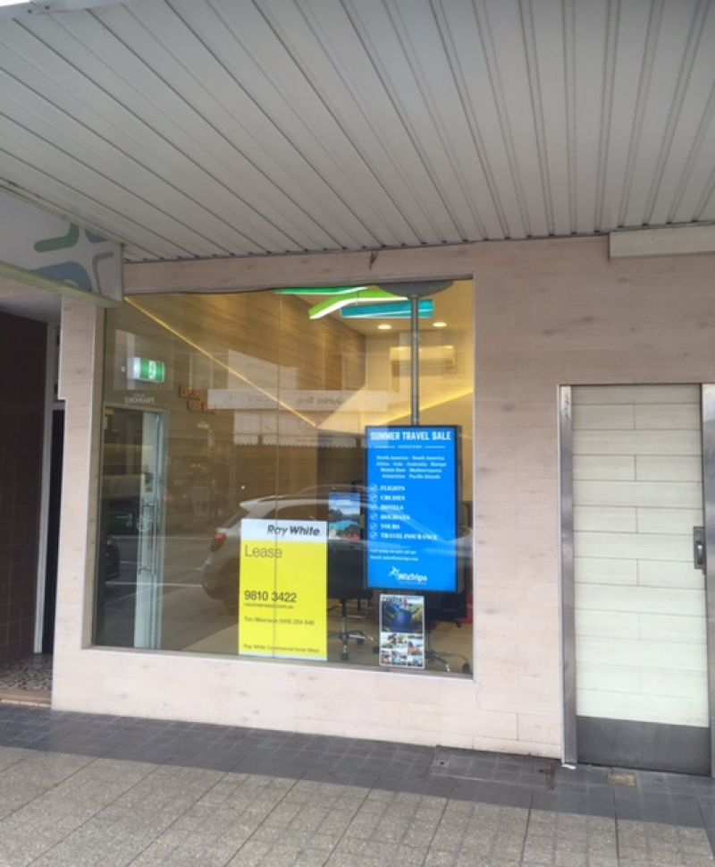 ATTRACTIVE RETAIL SHOP ON DARLING STREET