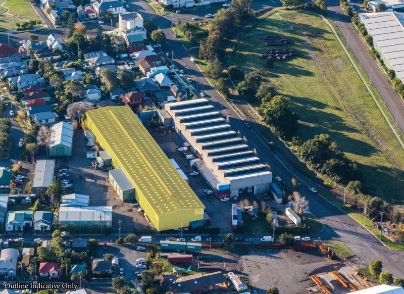 Port Precinct Clearspan Warehouse