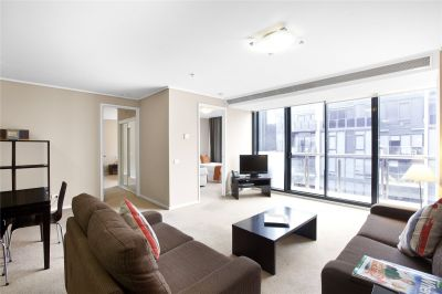 Melbourne Tower: 34th Floor - Perfectly Positioned Two Bedroom Apartment!