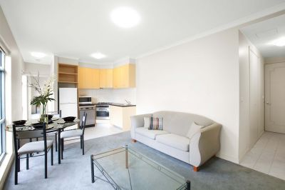 Morgan Place - FURNISHED: Bright Corner Living In Peaceful CBD Pocket!