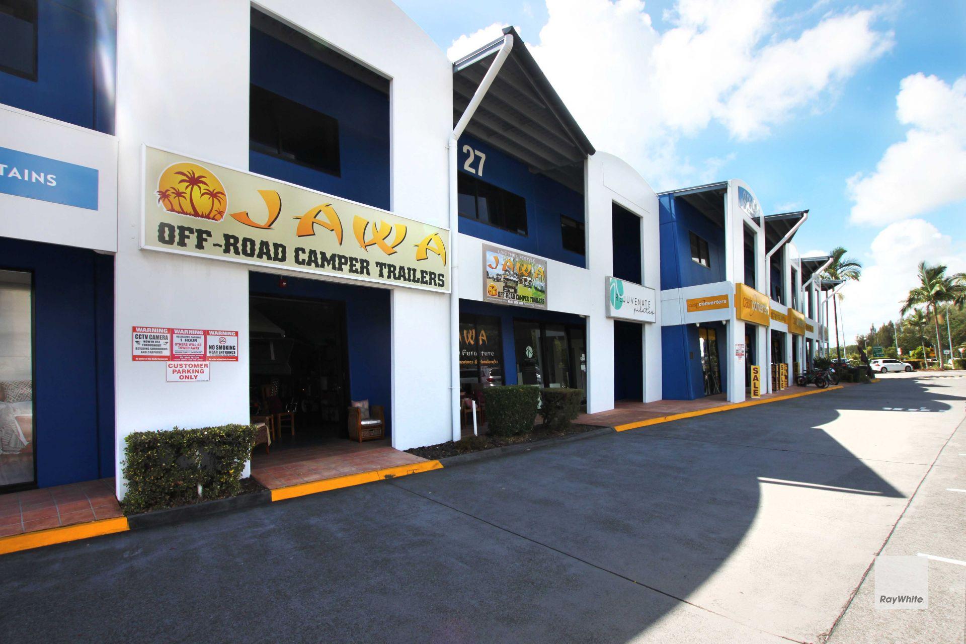 High Profile Retail Showroom