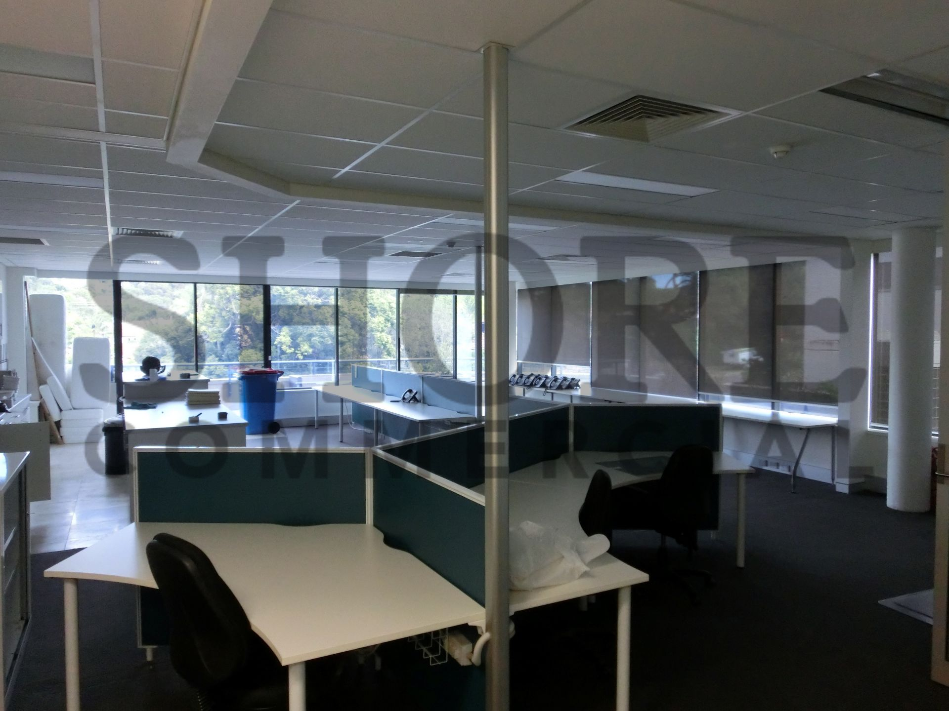 RECENTLY REFUBISHED OFFICE SPACE WITH STATE OF THE ART FITOUT